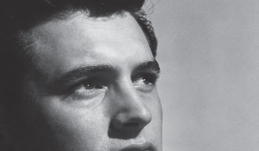"""This cover image released by Harper shows """"All That Heaven Allows: A Biography of Rock Hudson,"""" by Mark Griffin. (Harper via AP)"""