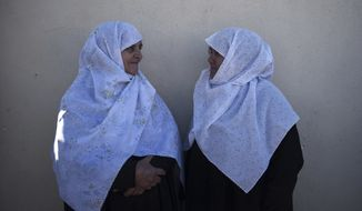 Early this year, the Greek government gave Muslim citizens an option about whether to appeal to Shariah or Greek public courts. But many of Greece's 100,000 Muslims, mostly ethnic Turks concentrated along the Turkish border, still turn to Islamic religious judges in legal disputes. (Associated Press photograph)