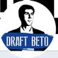 """""""Draft Beto"""" launched on Dec. 18, 2018, with the goal of convincing the Texas Democrat to run for president in 2020. (Image: Twitter, Draft Beto screenshot)"""