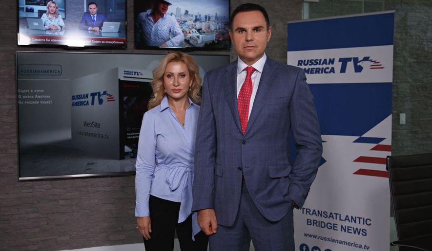 Anastasia Gorshkova and Sergey Danilov from Russia America TV (SPONSORED)