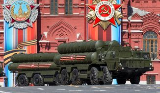 U.S. and NATO officials have worried that allowing Russia to install the S-400 anti-missile system in Turkey could give the Kremlin an inside look at sensitive Western technology. The U.S. reportedly has a deal to sell the system to Turkey. (ASSOCIATED PRESS)
