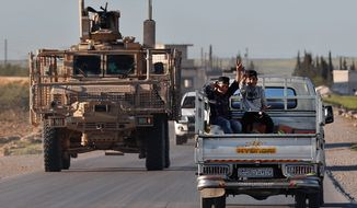 President Trump's announcement Wednesday about the U.S. pulling out of Syria came just days after Turkey said it was poised to carry out an offensive against Kurdish groups inside Syria, though the U.S. relied on the groups for years to battle the Islamic State. (ASSOCIATED PRESS)