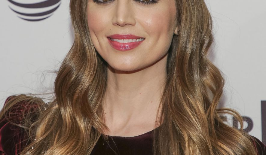 """Producer Eliza Dushku attends a screening of """"Mapplethorpe"""" at the SVA Theatre during the 2018 Tribeca Film Festival on Sunday, April 22, 2018 in New York. In an essay in The Boston Globe published Wednesday, Dec. 19, 2018, Dushku says she struggled with her decision to keep quiet about the sexual harassment she says she endured from actor Michael Weatherly on the set of the CBS show """"Bull."""" (Photo by Brent N. Clarke/Invision/AP)"""