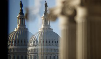 Congress returns to the Capitol this week after a two-week recess with an unclear vision of the annual National Defense Authorization Act. (Associated Press/File)