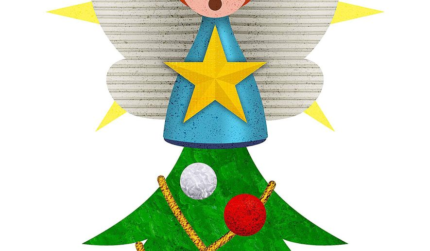 Tree Angel Illustration by Greg Groesch/The Washington Times