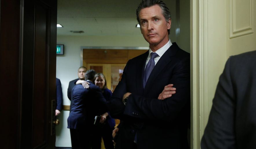 California Gov.-elect Gavin Newsom successfully campaigned on pushing the state for a sweeping, single-payer health care system. Other Democratic governors-elect are also looking to expand health care coverage and to reform the system. (Associated Press)