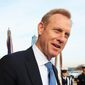 Patrick Shanahan will assume the title of acting Secretary of Defense starting Jan. 1, taking the reins from James Mattis, who President Trump said will be out at the end of the year. (Associated Press/File)