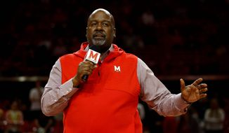 Maryland football coach Mike Locksley will be expected to persuade local talent to stay home and play in College Park. (Associated Press/File)
