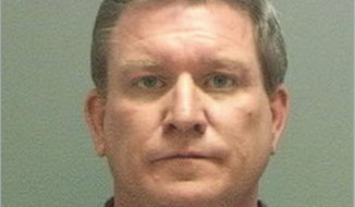 "This undated booking photo provided by the Salt Lake County Sheriff's office shows former Disney channel actor Stoney Westmoreland who has been charged with six felony counts after authorities said he tried to have sex with a 13-year-old boy. Prosecutors say Westmoreland was on the dating app Grindr when he found a profile operated by a police detective in Salt Lake City, near the location of the show ""Andi Mack."" (Salt Lake County Sheriff via AP)"
