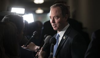 Rep. Adam Schiff of California, the top Democrat on the House intelligence committee, signaled he'll prod social media companies to take a more active role in analyzing the way they've been used by Russian operatives. (Associated Press)