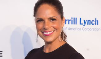 Soledad O'Brien arrives at the 2016 Art For Life Benefit, presented by Russell Simmons' RUSH Philanthropic Arts Foundation, at Fairview Farms, on Saturday, July 16, 2016, in Water Mill, New York. (Photo by Scott Roth/Invision/AP) ** FILE **
