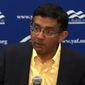 An event at the University of Florida that featured conservative pundit Dinesh D'Souza preceded a policy change for student organizations. Young America's Foundation has filed a federal lawsuit against the university on 1st and 14th Amendment grounds. (Image: Twitter, YAF)