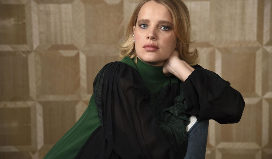 "In this Dec. 3, 2018 photo, Joanna Kulig, a cast member in the Polish film ""Cold War,"" poses for a portrait at the The London West Hollywood hotel in West Hollywood, Calif. (Photo by Chris Pizzello/Invision/AP)"