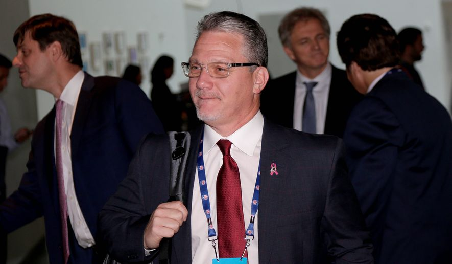 Brian Lafemina preached a notion of truth and transparency after he was hired by the Washington Redskins to be president of business operations. (ASSOCIATED PRESS)