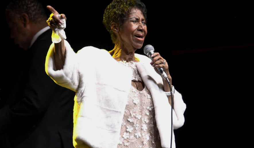 FILE - In this Nov. 7, 2017 file photo, Aretha Franklin attends the Elton John AIDS Foundation's 25th Anniversary Gala in New York. An attorney representing the estate of the late Queen of Soul says at least $3 million in back taxes have been paid to the IRS since Franklin's death this summer in her Detroit apartment. David Bennett tells The Associated Press on Thursday, Dec. 27, 2018, that Franklin's estate is being audited by the IRS, which he says filed a claim this month in a county probate court north of Detroit. (Photo by Andy Kropa/Invision/AP, File)