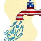 Illustration on a job rich U.S. economy by Greg Groesch/The Washington Times