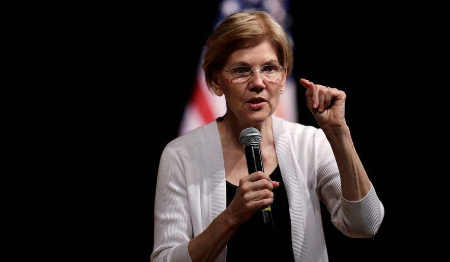 Elizabeth Warren   Associated Press photo