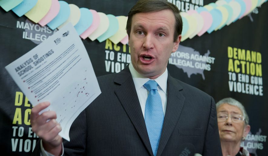 """I would have liked to have seen more applications for something other than just school security officers, but it's a good thing those grants are going out,"" said Sen. Chris Murphy, Connecticut Democrat, who has pushed for gun control legislation. (Associated Press)"