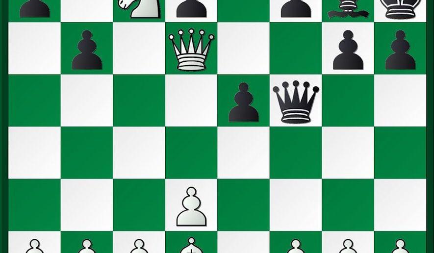 Carlsen-Vokhidov after 19...b7-b6.