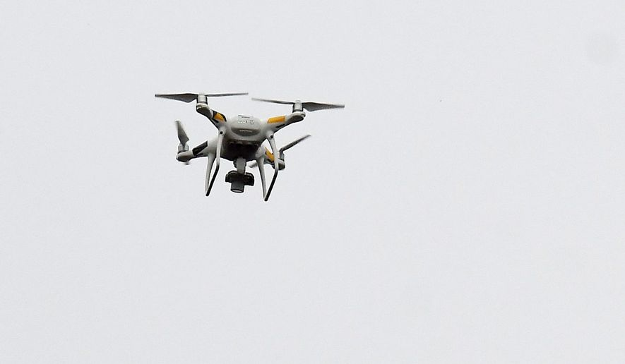 The New York Police Department had planned to deploy drones for the first time to monitor crowds during New Year's Eve festivities, but the plans were thwarted by rainy weather.