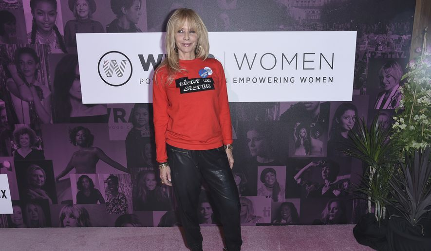 "Rosanna Arquette attends The Wrap's ""Power Women Summit"" at the InterContinental on Thursday, Nov. 1, 2018, in Los Angeles. (Photo by Richard Shotwell/Invision/AP) ** FILE **"