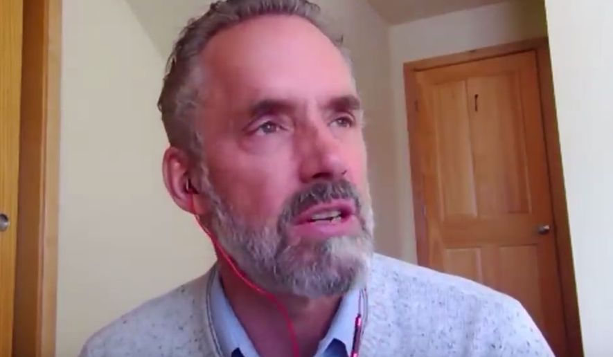 eb5f43f4eebf35  quot 12 Rules for Life quot  author and clinical psychologist Jordan B.  Peterson discusses. ""