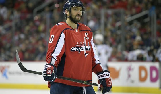 new arrival e4854 e10b2 Alex Ovechkin leads NHL in jersey sales - Washington Times
