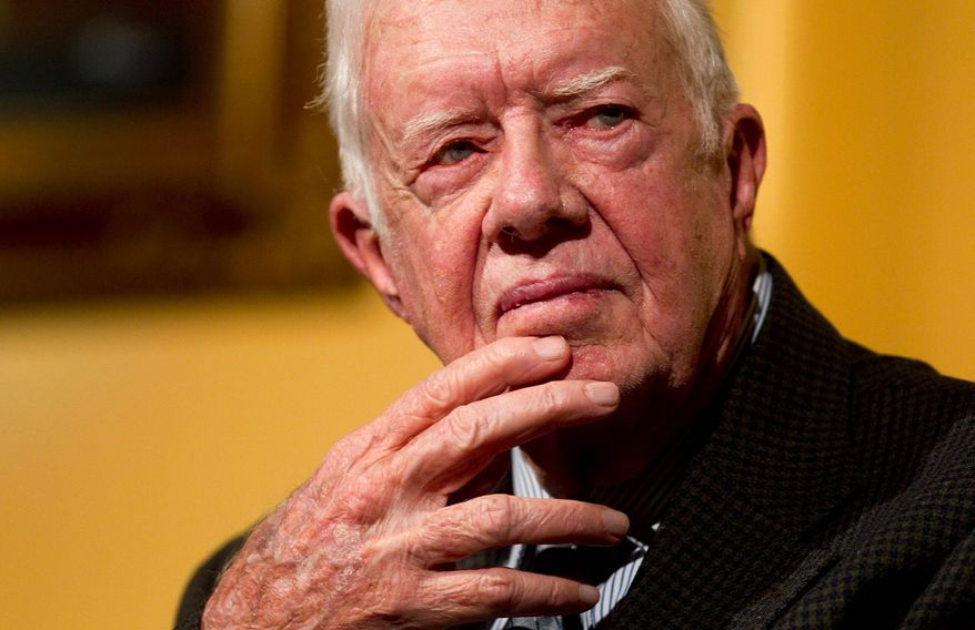 Jimmy Carter. (Associated Press) ** FILE **