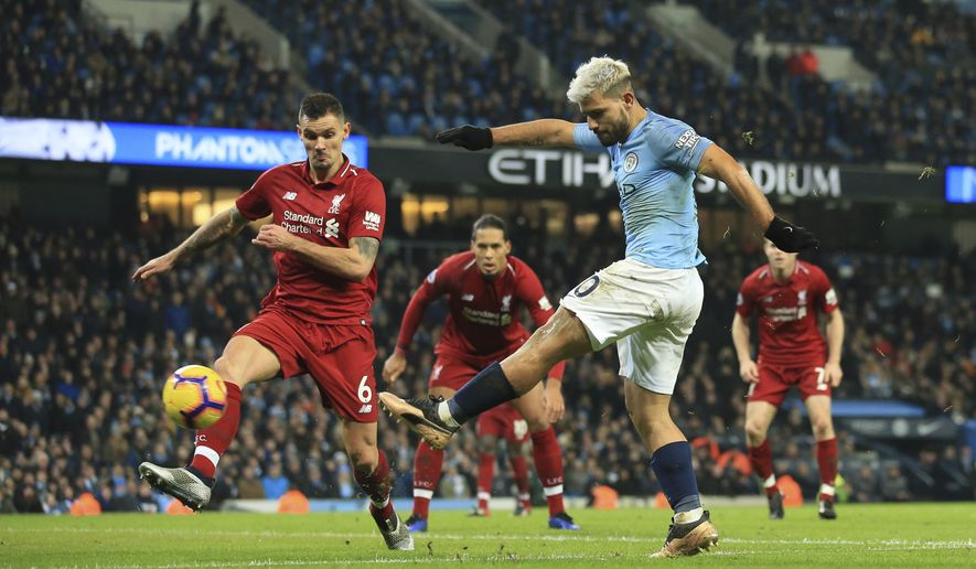 Man City Inflicts Liverpool S First Loss Of Epl Season Washington Times