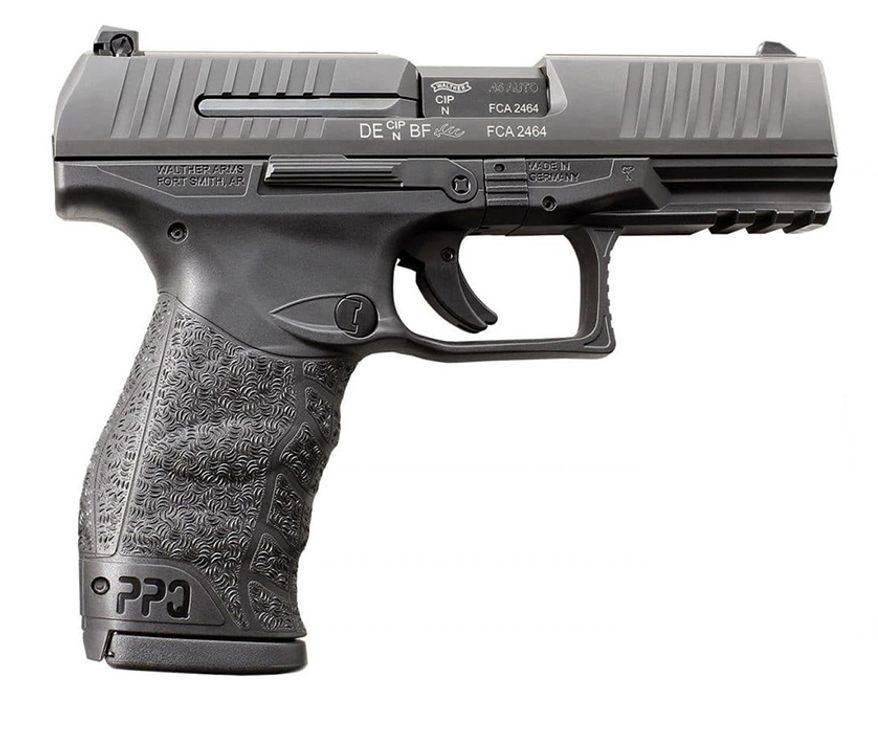 WALTHER PPQ M2 is a true breakthrough in ergonomics for self-defense handguns. The sculpted grip meshes smoothly into the hand. The trigger is the finest ever on a polymer, striker-fired handgun. The styling is elegant and trim.