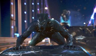"This image released by Disney shows a scene from Marvel Studios' ""Black Panther."" Disney and WarnerMedia are each launching their own streaming services in 2019 in an effort to challenge Netflix's dominance. Netflix viewers will no longer be able to watch hit movies such as ""Black Panther"" or ""Moana,"" which will soon reside on Disney's subscription service. (Matt Kennedy/Marvel Studios-Disney via AP)"