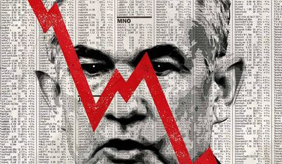 Jerome Powell Effect on the Stock Market Illustration by Greg Groesch/The Washington Times