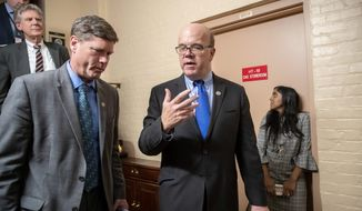 """We want to do this in a thoughtful way,"" said Rep. James P. McGovern. ""We need to begin this discussion, so I'm looking forward to it,"" said the Massachusetts Democrat. (Associated Press)"