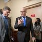 """""""We want to do this in a thoughtful way,"""" said Rep. James P. McGovern. """"We need to begin this discussion, so I'm looking forward to it,"""" said the Massachusetts Democrat. (Associated Press)"""
