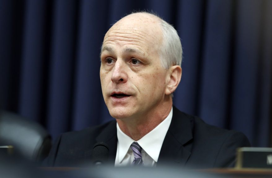 Rep. Adam Smith, Washington state Democrat and chairman of the House Armed Services Committee, is shown in this file photo from April 12, 2018. (AP Photo/Alex Brandon) ** FILE **