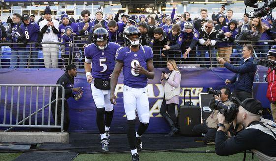 629235f63 Joe Flacco hands Ravens off to the rookie - Washington Times
