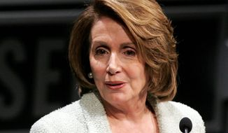Nancy Pelosi. (Associated Press)
