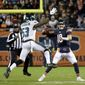 The Philadelphia Eagles held quarterback Mitchell Trubisky and the Chicago Bears to 15 points in a NFC wild-card victory on Sunday.
