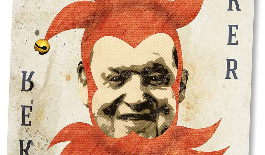 Adelson Crony Capitalism Illustration by Greg Groesch/The Washington Times