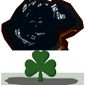 Illustration on the carbon tax burden in Ireland by Alexander Hunter/The Washington Times