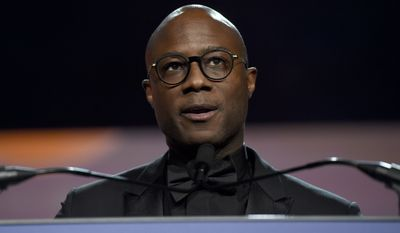 Barry Jenkins presents the chairman's award at the 30th annual Palm Springs International Film Festival on Thursday, Jan. 3, 2019, in Palm Springs, Calif. (Photo by Chris Pizzello/Invision/AP)