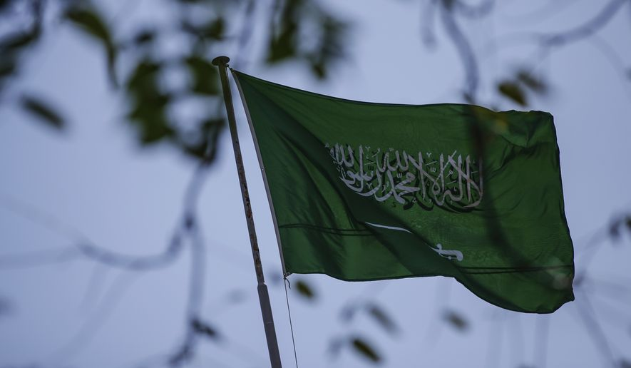 The Saudi Arabia flag flies over the consulate in Istanbul, Sunday, Oct. 7, 2018. The Washington Post is reporting that two officials have told it that Turkey believes a prominent Saudi Arabian journalist who contributes to the Post was killed at the Saudi Consulate in Istanbul. Saudi officials have had no immediate comment. The Post says that the anonymous officials with knowledge of the Turkish investigation gave it the information about missing columnist Jamal Khashoggi. (AP Photo/Emrah Gurel)