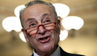 Senate Minority Leader Charles E. Schumer says he is suspicious of the Treasury's breaks for three companies associated with a Russian oligarch. (Associated Press/File)