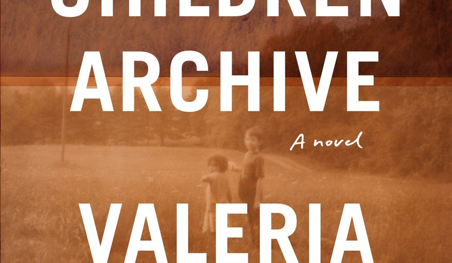 "This cover image released by Knopf shows ""Lost Children Archive,"" a novel by Valeria Luiselli. The book tells the story of young immigrants separated from their families. (Knopf via AP)"