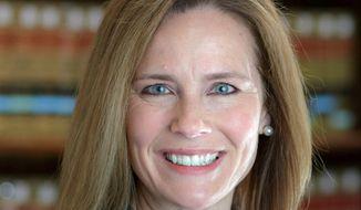 Judge Amy Barrett. (Associated Press)