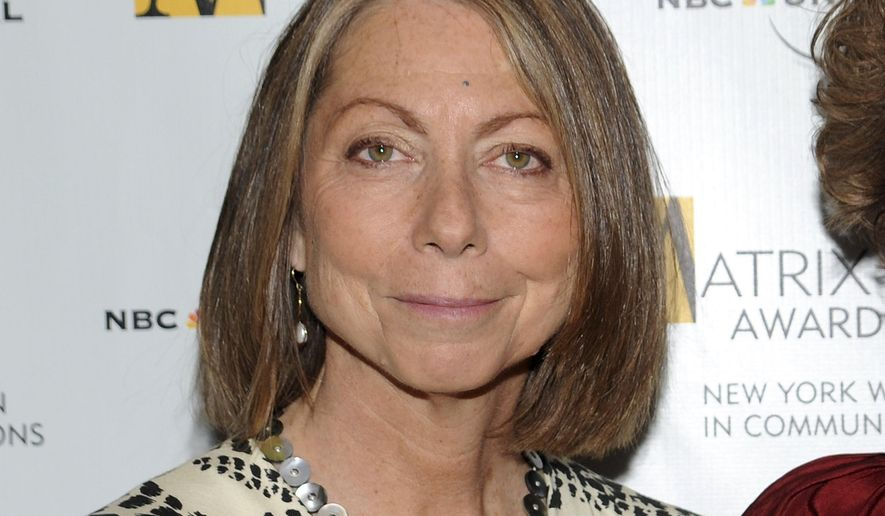Former New York Times editor Jill Abramson takes a dim view of many of the appearances that reporters at her former newspaper and The Washington Post make on Trump-centric cable television networks. (AP Photo/Evan Agostini, File)