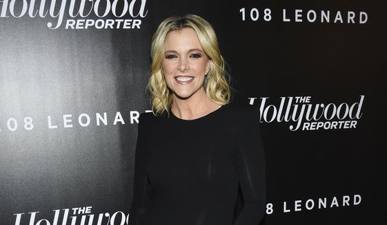 n this April 12, 2018 file photo, television journalist Megyn Kelly attends The Hollywood Reporter's annual 35 Most Powerful People in Media event at The Pool in New York. (Photo by Evan Agostini/Invision/AP, File)