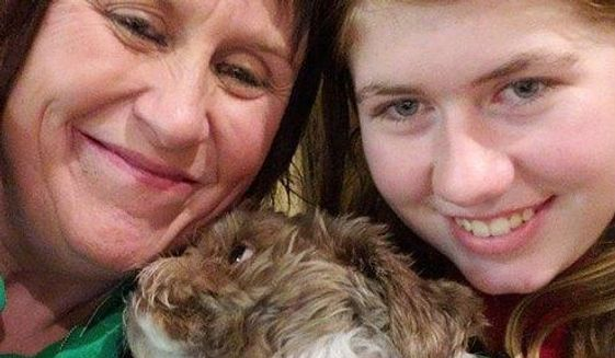 This Friday, Jan. 11, 2019 photo shows Jayme Closs, right, with her aunt, Jennifer Smith in Barron, Wis. Jake Thomas Patterson, a 21-year-old man killed a Wisconsin couple in a baffling scheme to kidnap Jayme Closs, their teenage daughter, then held the girl captive for three months before she narrowly managed to escape and reach safety as he drove around looking for her, authorities said. (Jennifer Smith via AP)