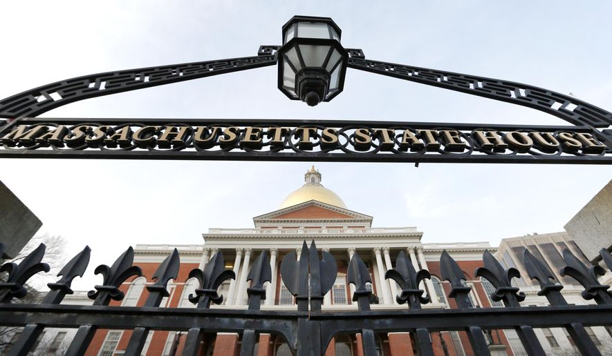 This Wednesday, Jan. 2, 2019 shows the Massachusetts Statehouse in Boston. Massachusetts Attorney General Maura Healey has been methodically working on a case to find out what Exxon Mobil Corp. knew about the impact of burning fossil fuels _ and when. In January 2019, Healey inched closer to that goal when the U.S. Supreme Court refused to hear a bid by the company meant to block the investigation by the Massachusetts Democrat into whether the company misled investors and consumers about what it knew about the link between fossil fuels and climate change. (AP Photo/Elise Amendola)
