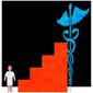 Illustration on step therapy by Alexander Hunter/The Washington Times
